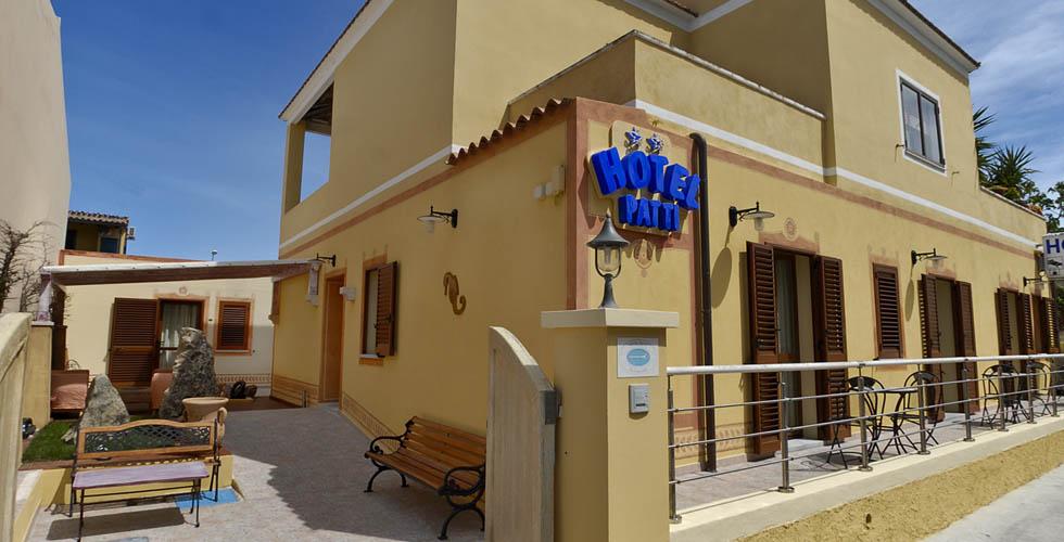 Hotel Patti spiaggia Golfo Aranci